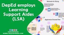 DepEd employs Leraning Supoort Aides
