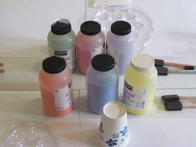 Powder paint science and art