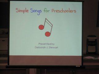 Simple songs for preschoolers