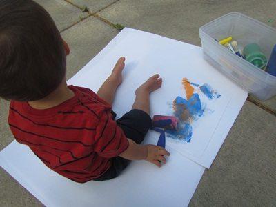 Exploring the paint brush