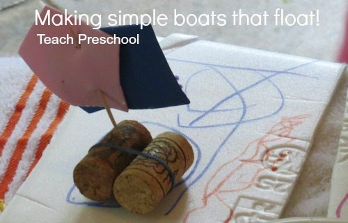 Making simple boats that float