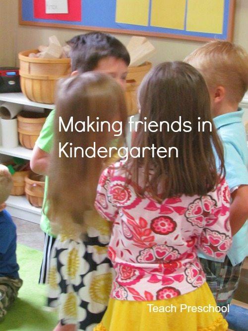 How to make friends in kindergarten