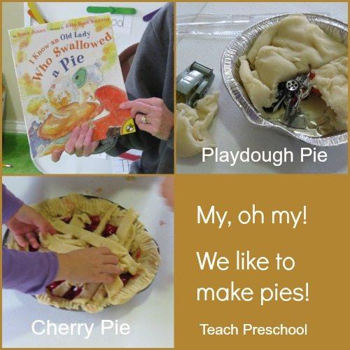 My, oh my! We like to make pies!