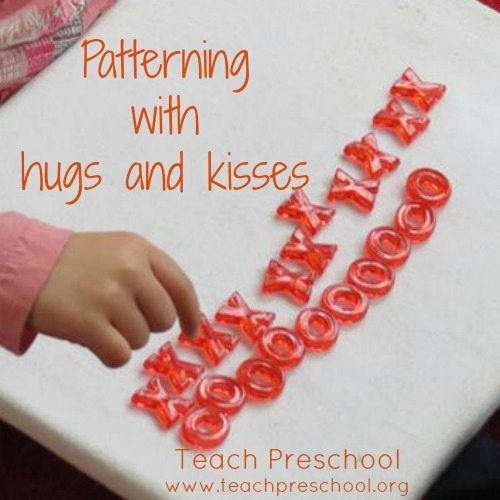 Patterning with hugs and kisses