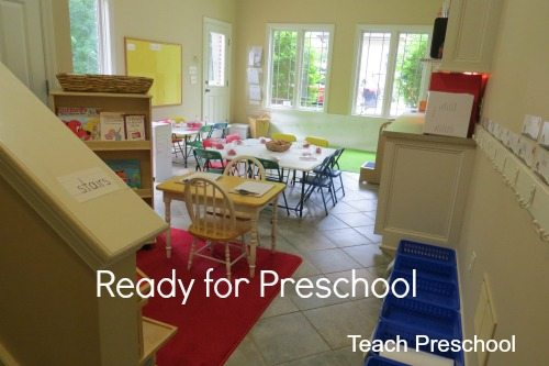 Our classrooms are ready for preschool