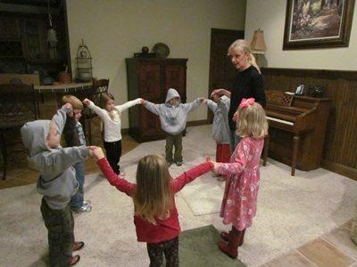 Large motor play for preschoolers