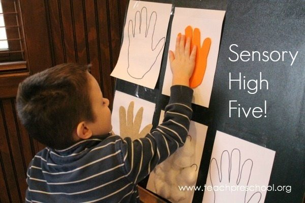 High five for our sense of touch!