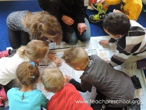 More with maps in preschool