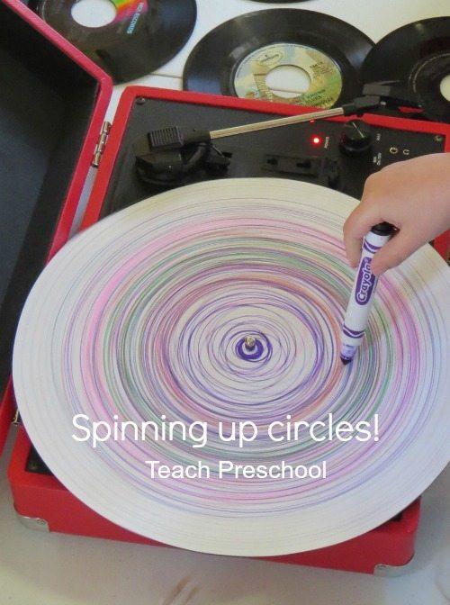 Spinning up circles