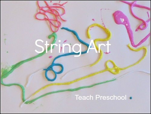 String art for preschool