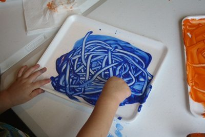Paint and write boards for preschoolers