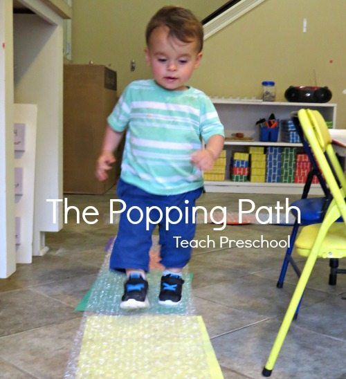 The popping path!