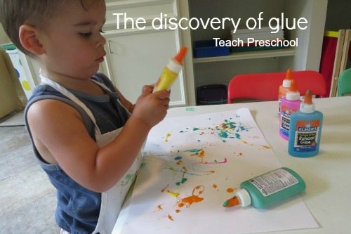 The discovery of glue