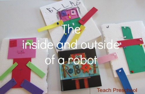 Exploring robots inside and out