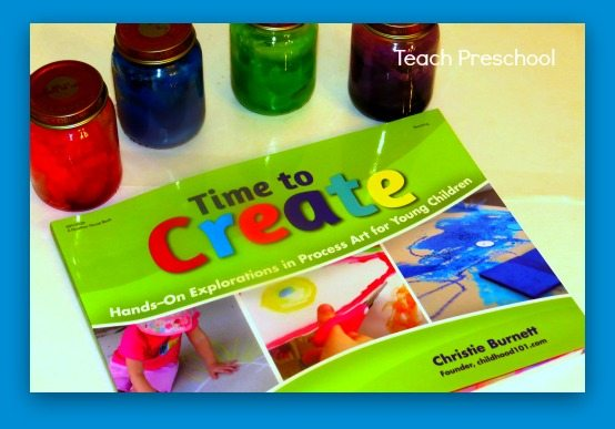 Time to Create: edible fingerpaint recipe
