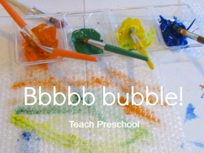 B is for bbbbbb bubble!