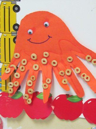 O is for Octopus in preschool