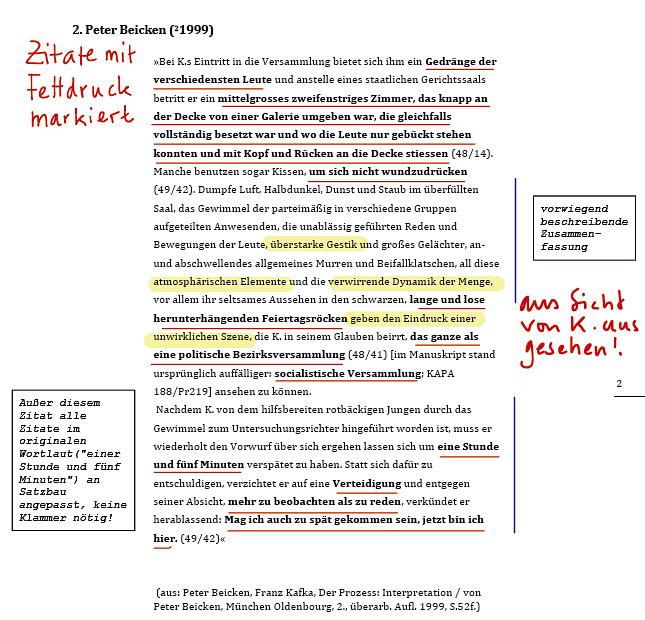Verhalten Von Josef K Zu Sprechen Kommt Wieder Starker Auf Einzelne Wortliche Zitate Zuruckzugreifen Um Das Verhalten Von Josef K Zu Beschreiben
