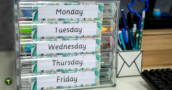 6 Cheap And Clever Classroom Organisation Hacks