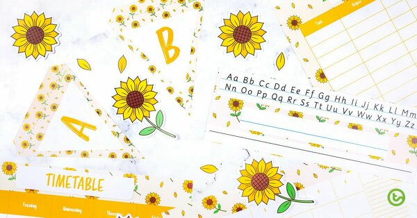 Crafts help kids show their creative side. Sunflower Paper Craft For Kids Easy And Fun Teach Starter