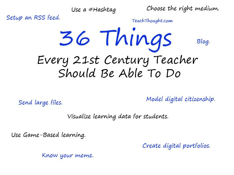 36-things-21st-century-teacher