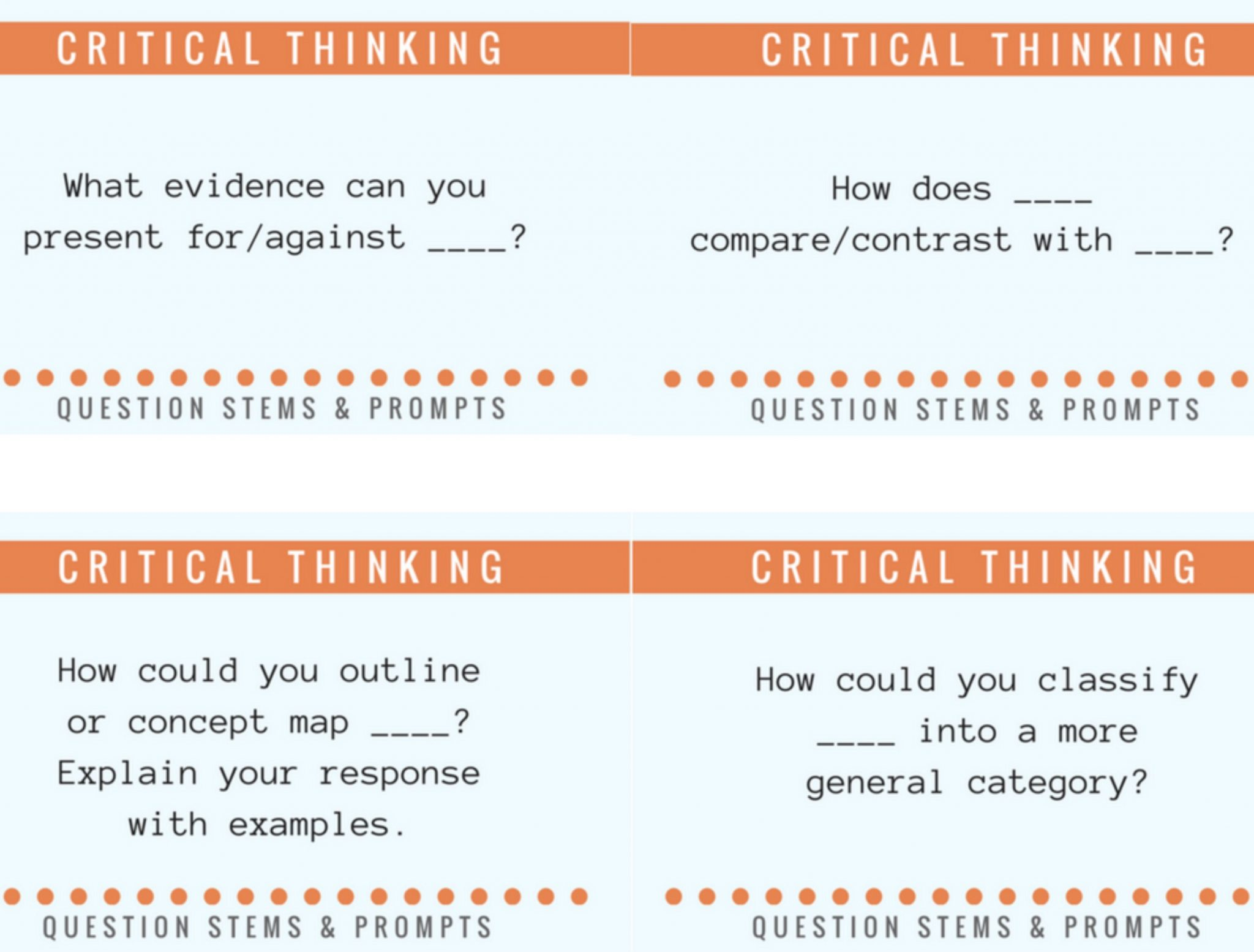Critical Thinking Questions For 3rd Grade Math