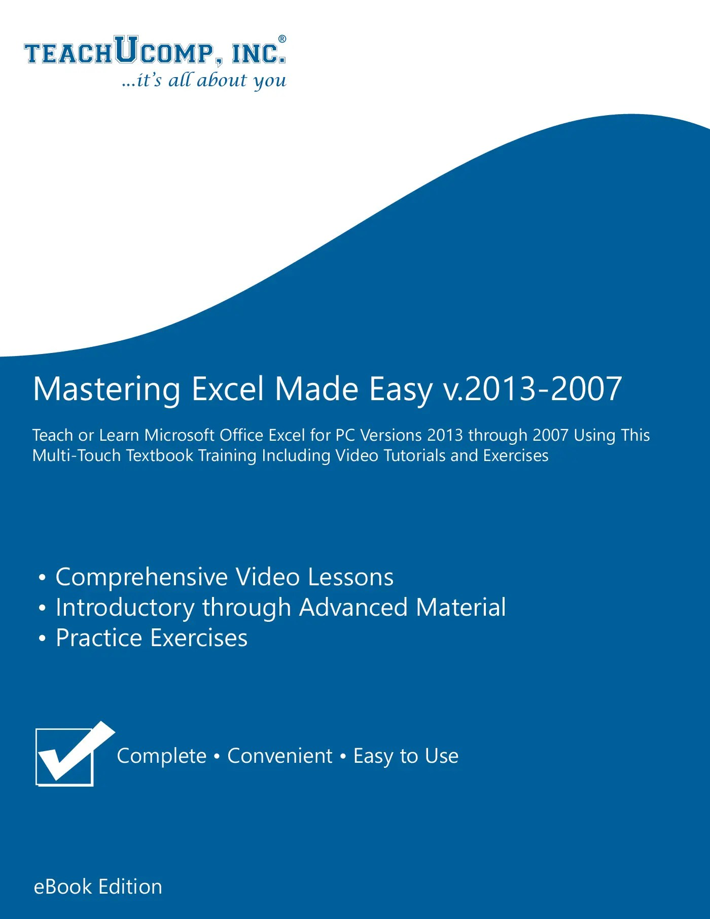 Excel Training Tutorial Free Online For Excel