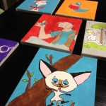 DIY Character Canvas Paintings