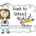 Enormous… and I mean EeeeeeNORMOUS Giveaway! Back to School Rally is almost here!