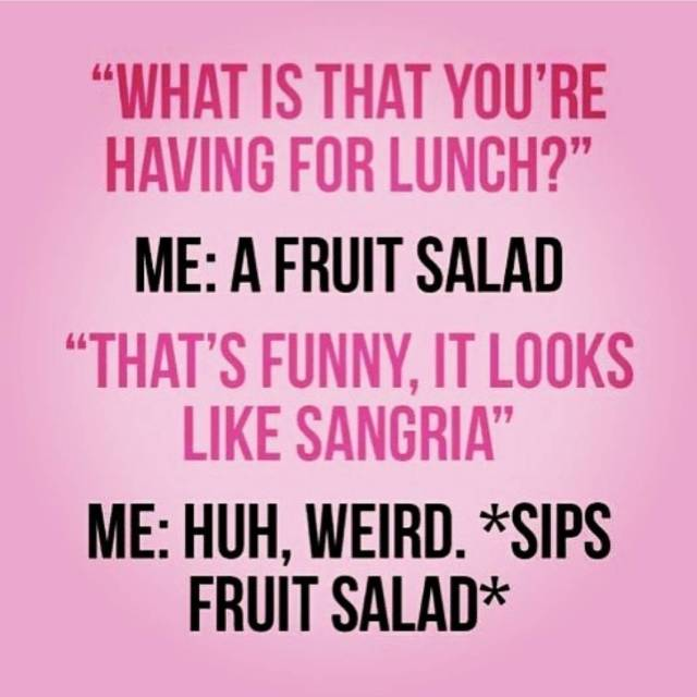 I want fruit salad for dinner! wednesdayssuck sofrickentired week2 teachersofinstagramhellip