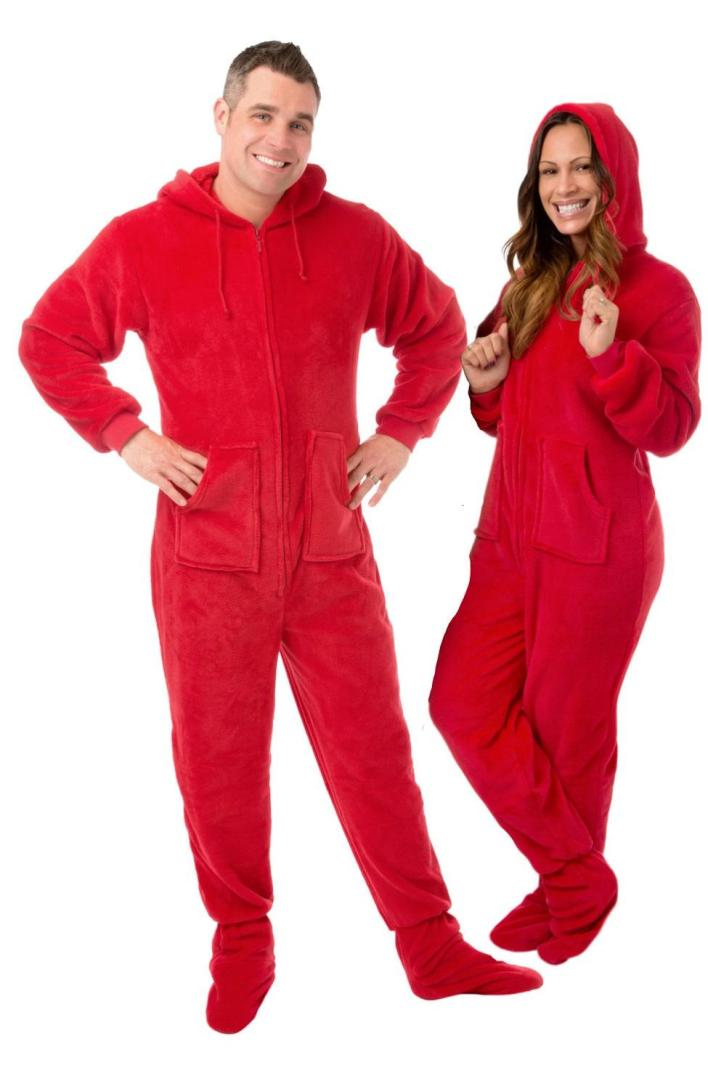 feetie pajamas for moms and dads