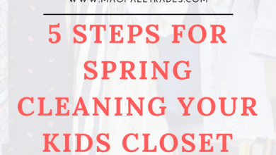 Photo of 5 Steps for Spring Cleaning Your Kids Closet