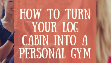 Photo of How to Turn your Log Cabin into a Personal Gym