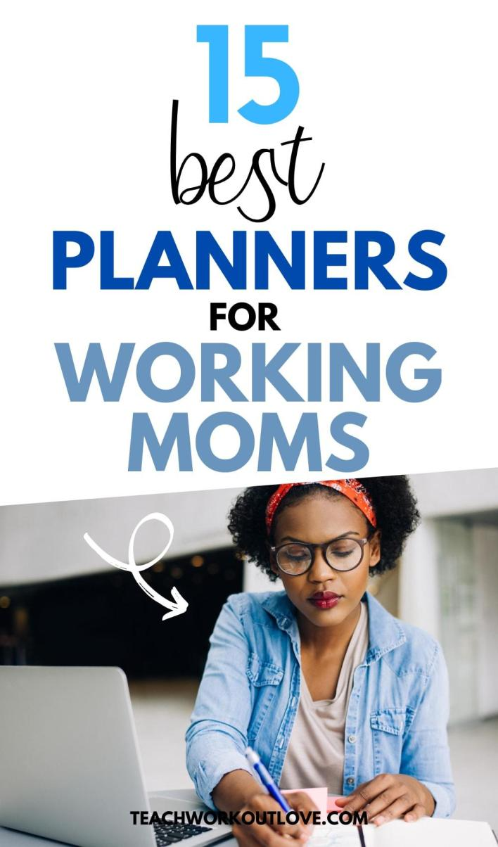 15 best planners for working moms