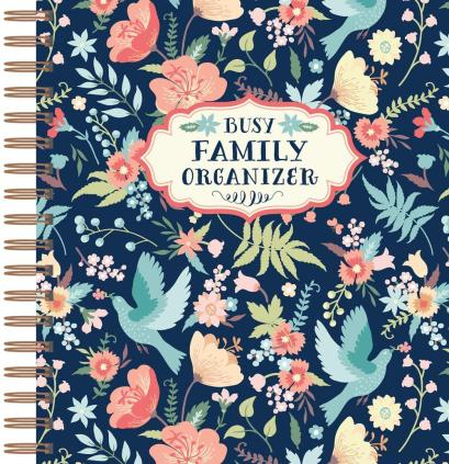 Busy Family Organizer Planner 2020