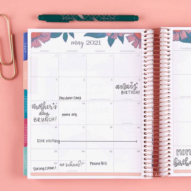 Erin Condren Lifeplanner - teach.workout.love