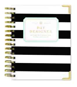 day-designer-black-and-white-striped-planner-for-working-moms-teachworkoutlove.com