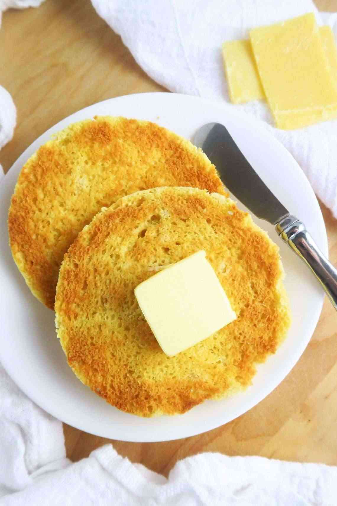 Recipe#5 wholesomeyum_two-minute-toasted-english-muffin-paleo-low-carb