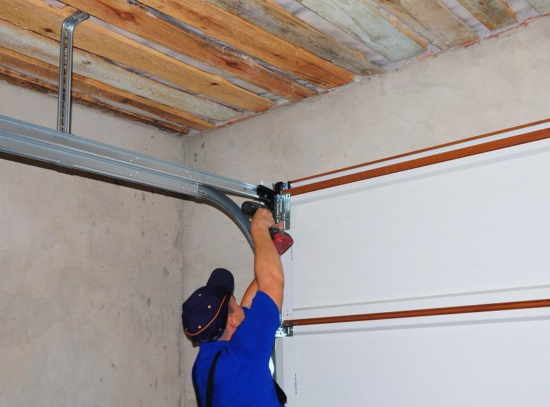 Garage Door Hinge Repair