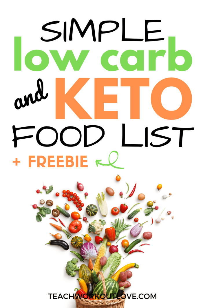 Balance and moderation are the keys dieting. Low carb and keto diets are on the rise this year.. Here's a great printable keto food list to get started!