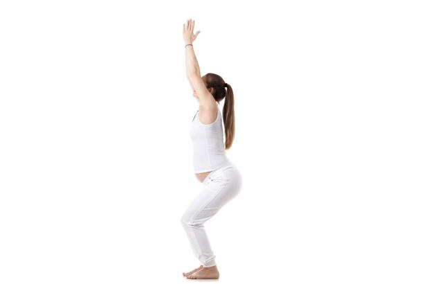 Legs-Up-the-Wall Prenatal Yoga Poses
