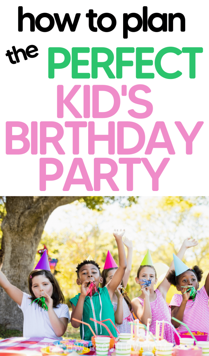 Planning the perfect kids birthday party doesn't have to be nerve-wracking, on the contrary, it can be a thrilling process for everyone.