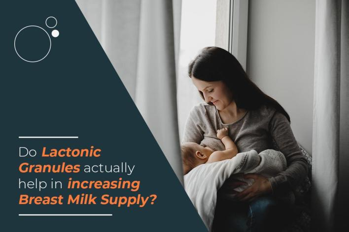 Do lactonic granules actually help in increasing breast milk supply