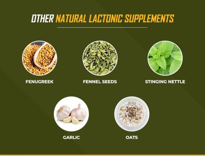 Other natural lactonic supplements