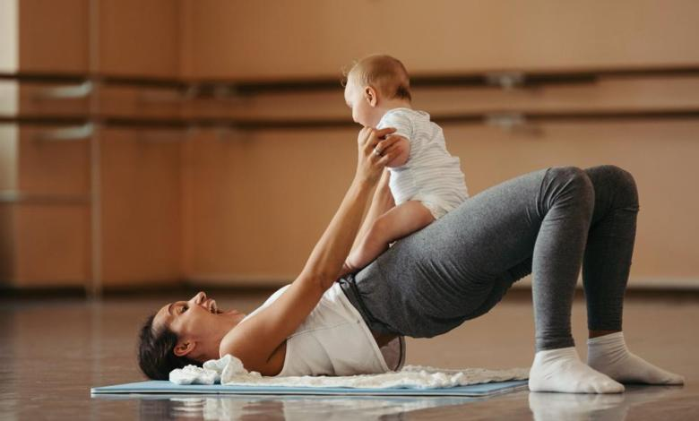 5 Workouts for Post Pregnancy