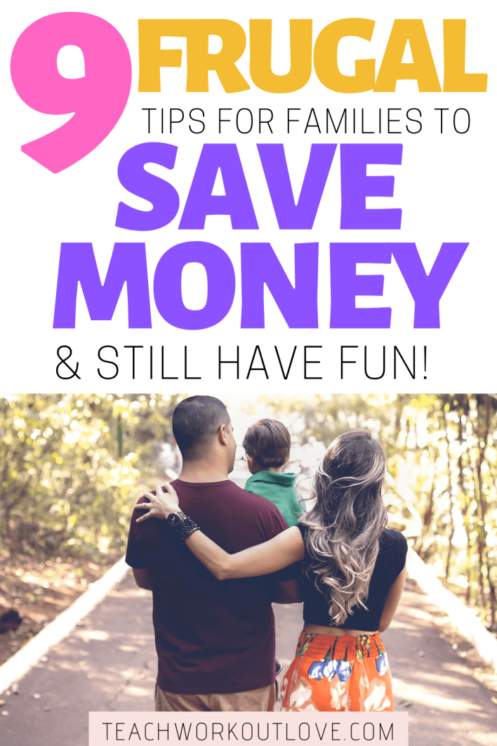 Spring is certainly here and means we all want to spend more time away from the TV, tech and screens. Here's 9 frugal tips for families to still have fun!