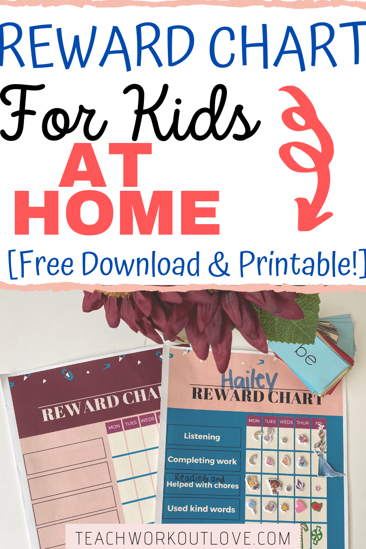 This article will help you to set up and use a reward chart for kids at home during distance learning and how to reward for positive behavior.