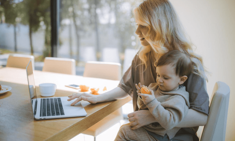 Zoom Meetings = Working Mom Burnout
