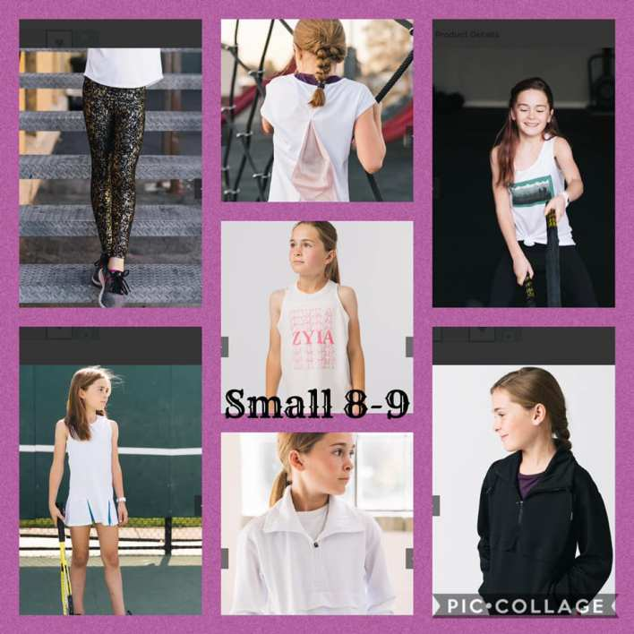 Small 8-9 Kid's Activewear