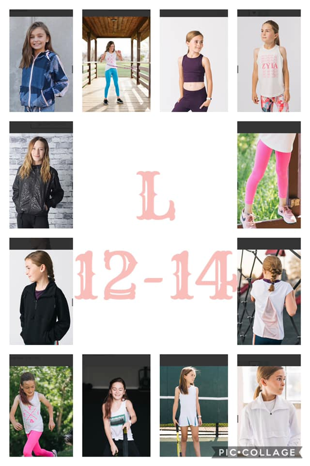 Large Kid's Activewear 12-14